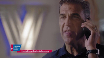 American Cancer Society TV Spot, 'The Recruiting Call' Feat. Roy Williams