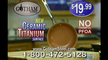 Gotham Steel Pan TV Spot, 'Non-Stick Cookware' Featuring Daniel Green - Thumbnail 6