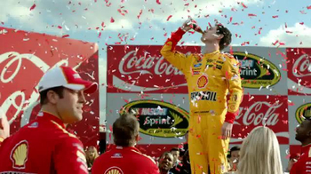 Coca-Cola TV Spot, 'Winner's Circle' Featuring Joey Logano