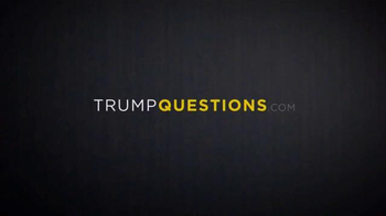 Our Principles PAC TV Spot, 'Trump Questions' - Thumbnail 1