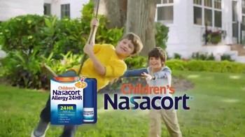 Children's Nasacort Allergy 24HR TV Spot, 'All Stuffed Up' - 6287 commercial airings