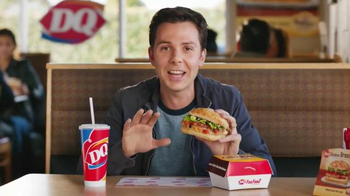 Dairy Queen Bakes! Chicken Bruschetta TV Spot, 'High-End Italian Sandwich'
