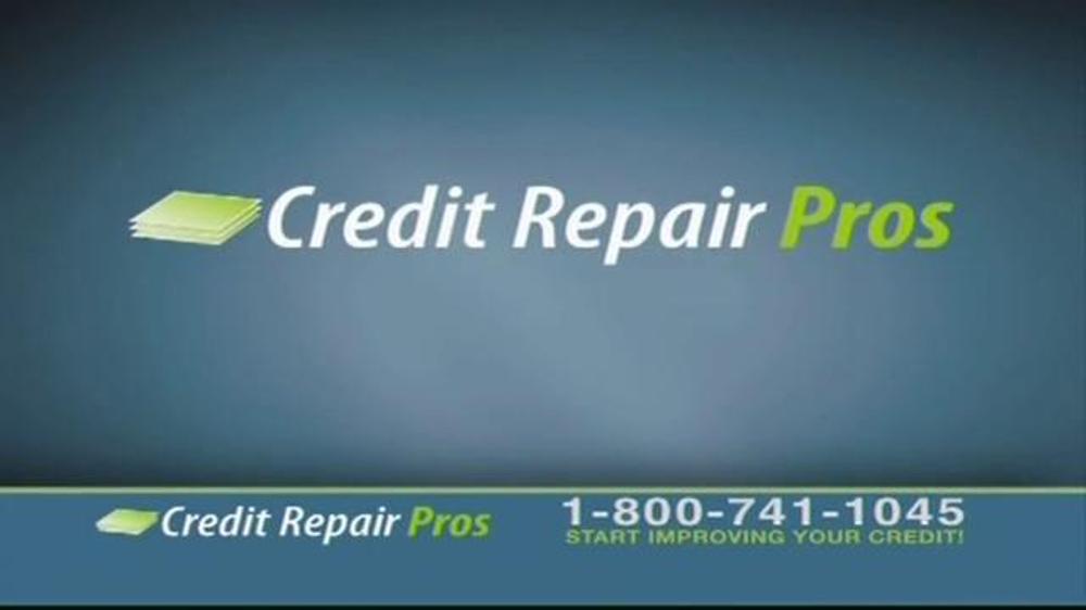 credit repair pros tv commercial 39 free credit. Black Bedroom Furniture Sets. Home Design Ideas
