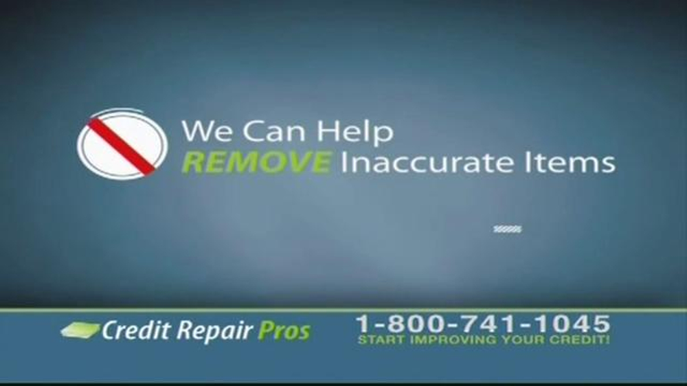 Western Sky Loans >> Credit Repair Pros TV Commercial, 'Free Credit Consultation' - iSpot.tv