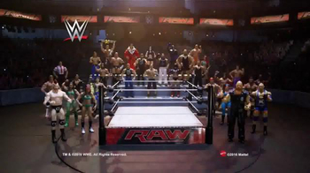 WWE Raw Superstar Ring TV Spot, 'Recreate Your Favorite Matches'