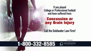 Goldwater Law Firm TV Spot, 'Brain Injuries'