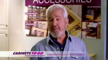 Cabinets To Go TV Spot, 'Great Quality and Prices' Featuring Bob Vila