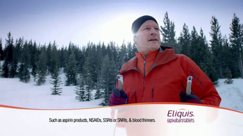 ELIQUIS TV Spot, 'The Slopes'