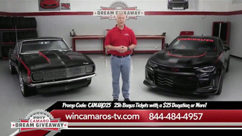 2017 Camaro Dream Giveaway TV Spot, 'Win Camaros'