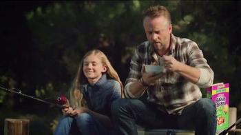 Kellogg's Raisin Bran Crunch Apple Strawberry TV Spot, 'Fishing' - Thumbnail 1
