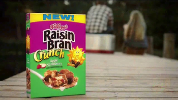 Kellogg's Raisin Bran Crunch Apple Strawberry TV Spot, 'Fishing' - Thumbnail 8