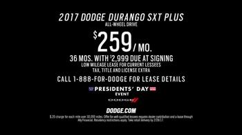 Dodge Presidents Day Event TV Spot, 'Alaska'