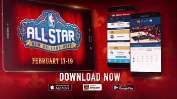 NBA App TV Spot, '2017 NBA All-Star in New Orleans' - 117 commercial airings