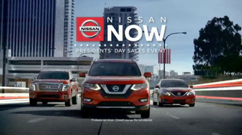 Nissan Now Presidents Day Sales Event TV Spot, '2017 Safety Picks'