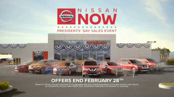 Nissan Now Presidents Day Sales Event TV Spot, '2017 Safety Picks' - Thumbnail 6