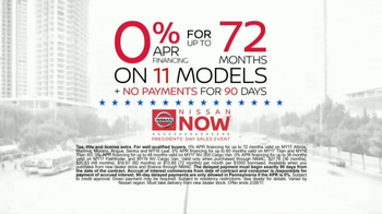 Nissan Now Presidents Day Sales Event TV Spot, '2017 Safety Picks' - Thumbnail 7