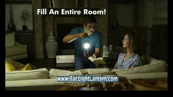 Bell + Howell TacLight Lantern TV Spot, 'LEDs' Featuring Nick Bolton