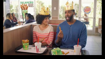 Burger King Jalapeño Chicken Fries TV Spot, \'Hot Relationship\'