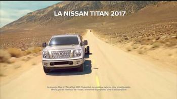 2017 Nissan Titan TV Spot, 'Mejor aceleración' [Spanish]