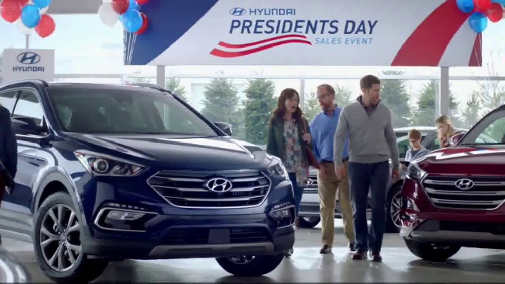 hyundai presidents day sales event tv commercial ispottv