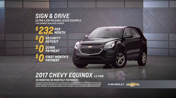 2017 Chevrolet Equinox TV Spot, 'Year After Year'