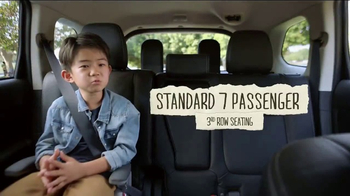 2017 Mitsubishi Outlander TV Spot, \'Kids Talk Safety: Third Row Seating\'