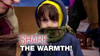 Burlington Coat Factory Warm Coats & Warm Hearts Drive TV Spot, 'ABC: Join' - 10 commercial airings