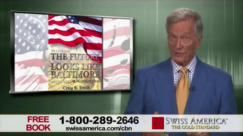 Swiss America TV Spot, 'The Future Looks Like Baltimore' Feat. Pat Boone