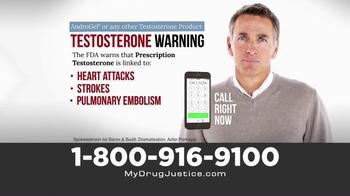 Baron & Budd, P.C. TV Commercial, 'Prescription Testosterone ...