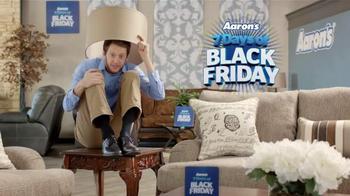 Aaron's 7 Days of Black Friday Sale TV Spot, 'Hiding'