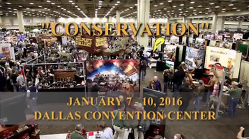 Dallas Safari Club Convention and Sporting Expo TV Spot, 'Conservation'