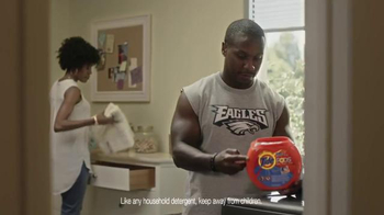 Tide Pods TV Spot, 'Small but Powerful' Featuring Darren Sproles