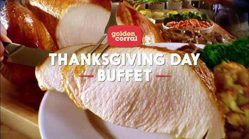 Golden Corral Thanksgiving Day Buffet TV Spot, 'New Family Tradition'