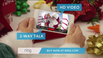 Ring TV Spot, 'Ring for the Holidays 2015' - 850 commercial airings