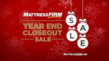 Mattress Firm Year End Closeout Sale TV Spot, 'Free Gifts'