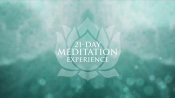 Chopra Center Meditation TV Spot,