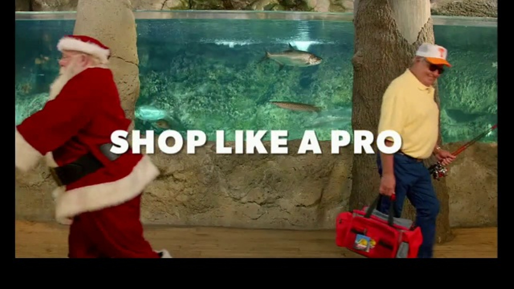 Bass Pro Shops Christmas Sale TV Commercial, 'Fishing, Fleece and ...