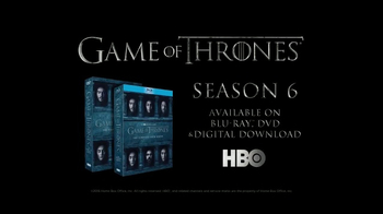 Game of Thrones: The Complete Sixth Season Home Entertainment TV Spot