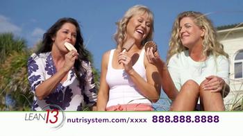 Nutrisystem Lean13 TV Spot, \'Lifestyle\'