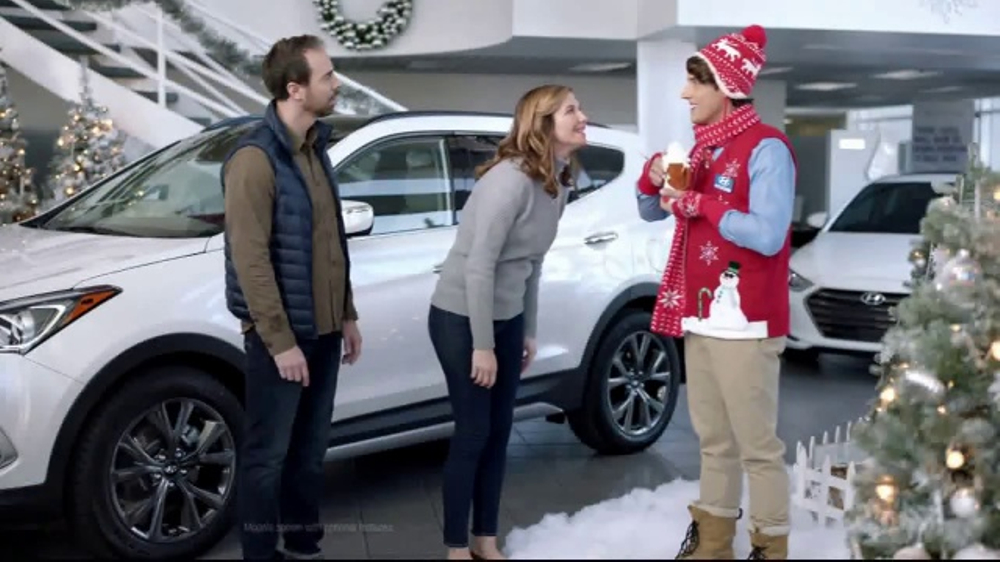 Hyundai Holidays Sales Event TV Commercial, 'Plenty to Be Festive ...