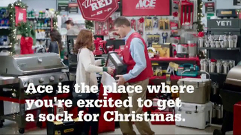 ACE Hardware: Giant Stocking Sale: Wrap It in Red
