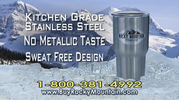 Rocky Mountain Tumbler TV Spot, 'Keeps Your Drinks Cold' - Thumbnail 7
