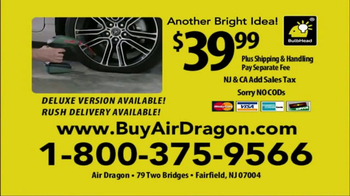 Air Dragon TV Spot, 'Portable Air Compressor' - Thumbnail 10