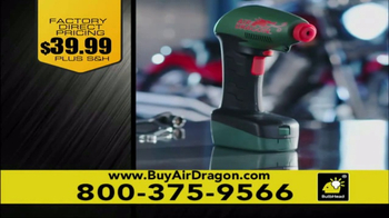 Air Dragon TV Spot, 'Portable Air Compressor' - Thumbnail 8