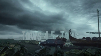 Ram Trucks TV Spot, \'Vikings Boat Tow\'