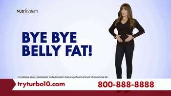 Nutrisystem Turbo 10 TV Spot, 'Tummy: Tracker' Featuring Marie Osmond
