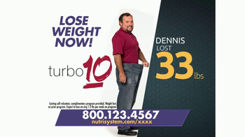 Nutrisystem for Men and Turbo 10 TV Spot, 'Put Down the Pie'