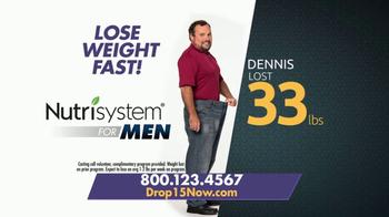 Nutrisystem for Men TV Spot, 'Put Down the Pie: Control'