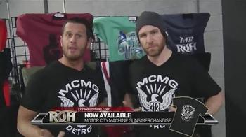 ROH Wrestling TV Spot, 'Motor City Machine Guns Merchandise'