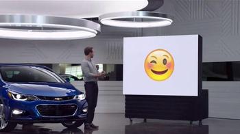 2016 Chevrolet Cruze TV Spot, 'Emojis'